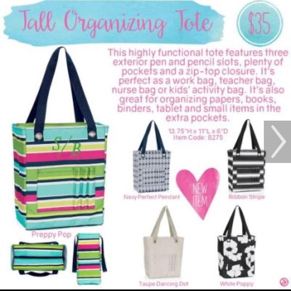 Thirty One Bags Thirtyone Tall Organizing Tote Poshmark